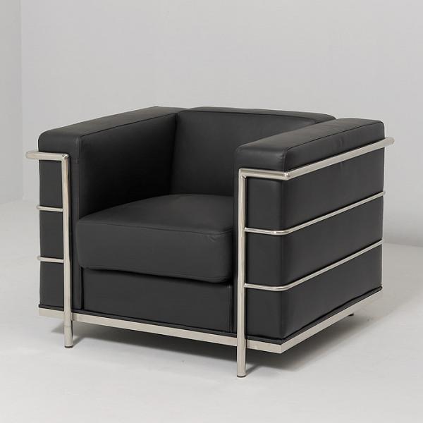 Fauteuil design cuir - Fauteuil design cuir noir ...