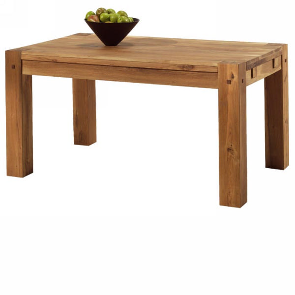 Table A Manger Bois Massif Acacia Corps En Metal 200cm Jpg Pictures to ...