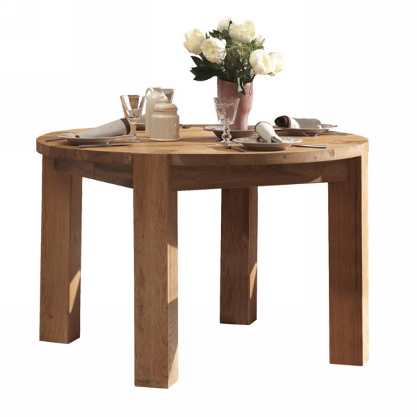 Table ronde rallonges for Table ronde a rallonge design