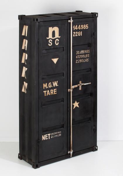 armoire metallique design. Black Bedroom Furniture Sets. Home Design Ideas