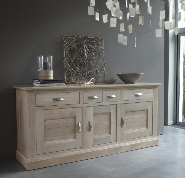 meuble en orme massif blanchi atelier retouche paris. Black Bedroom Furniture Sets. Home Design Ideas