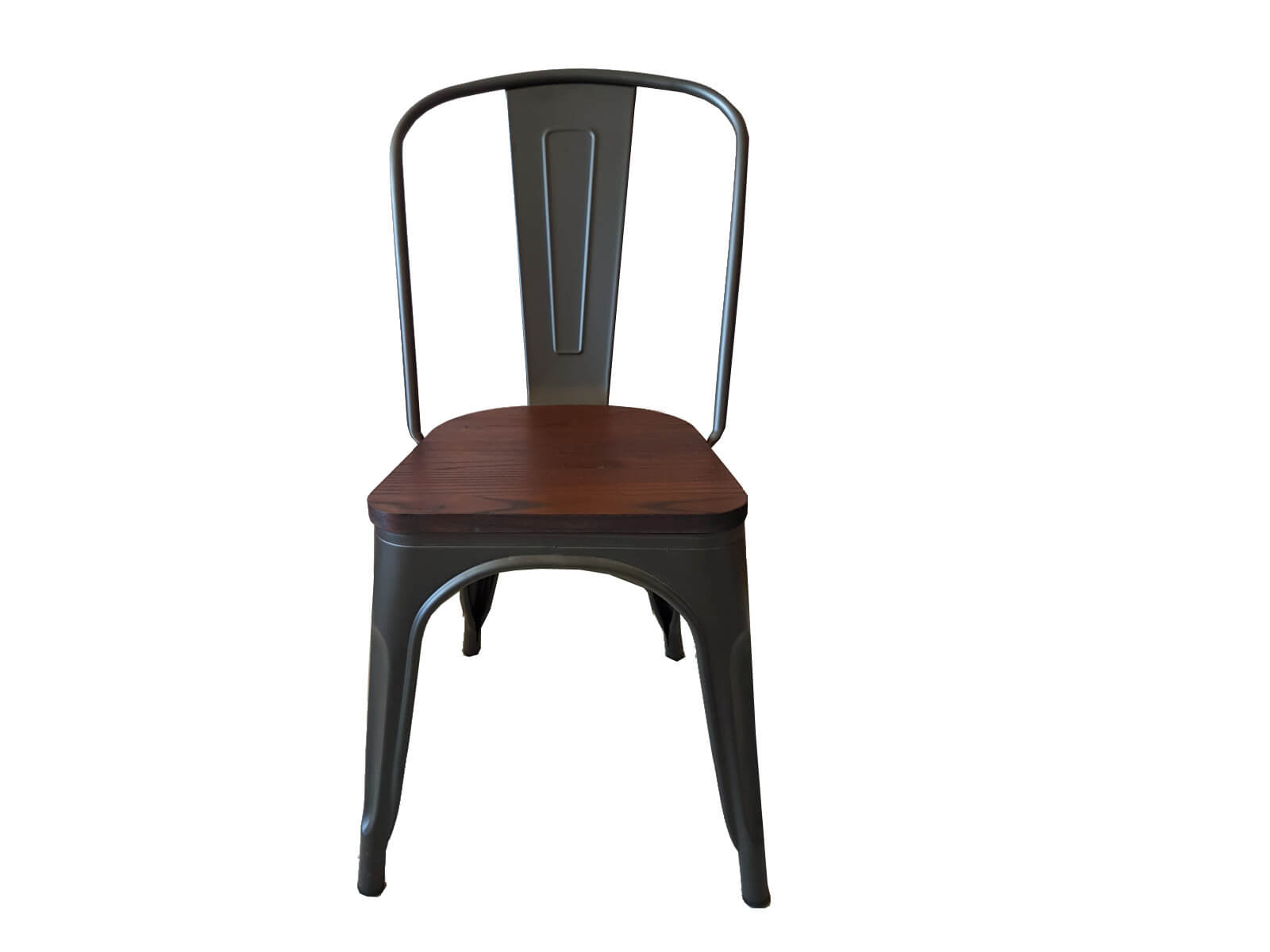 Chaise Bois Et Metal Industriel chaise bistrot métal et bois industrielle 'industry'