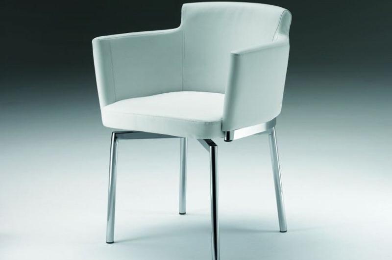 chaise cuir blanc. Black Bedroom Furniture Sets. Home Design Ideas
