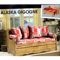 "Canapé gigogne déhoussable ""Alaska"""