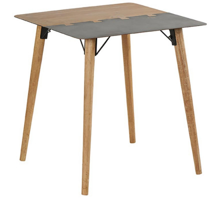 Table carré en 70 cm 'Fusion'