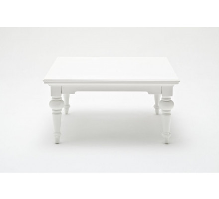 "Table basse carré ""Blanche"""