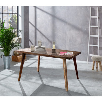 "Table scandinave rectangulaire acacia massif "" Oslo"""