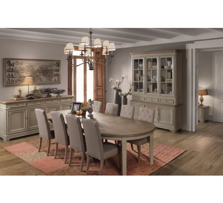 """Table RONDE extensible """"Charme"""""""