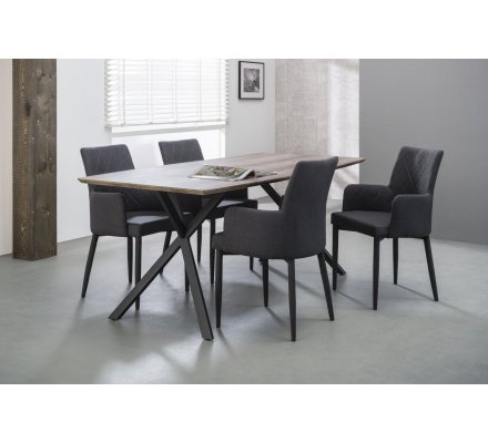 Table industrielle en 190 cm