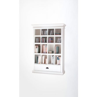 "Bibliothèque blanche ""Cygne"""