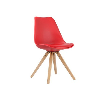 """Chaise design scandinave Blanche """"Scandinave lounge"""""""