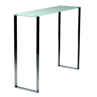 Console moderne en verre