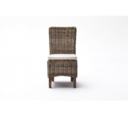 "Lot de 2 chaises en rotin ""Malawi"""