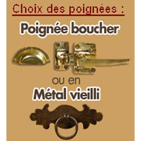"Meuble bas ""Campagne"" Casita 1 porte 4 tiroir 144cm"