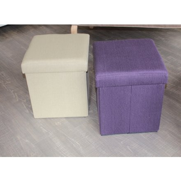 """Pouf coffre violet """" Folding"""""""