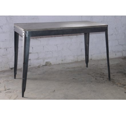 "Table haute snack bar loft 150x80cm  ""Snack Indus"""