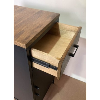 """Meuble de cuisine factory bois et métal 1 porte 1 tiroir """"Atelier"""""""