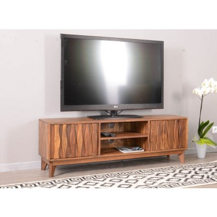 "Meuble tv en bois massif style vintage ""Madras"" 145 cm"