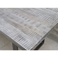 """Grande Table à manger  grise  220 cm  """"GOTËBORG"""""""