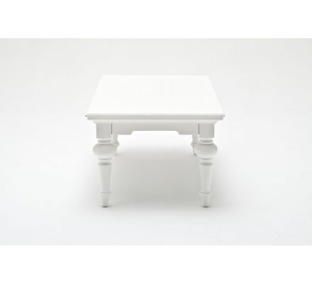 "Table basse rectangulaire ""Blanche"""
