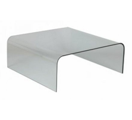 Table Basse Carree En Verre Cleo 3254