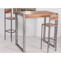 """Tabouret de bar industriel en métal et bois 'Industry"""""""
