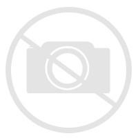 Table basse vintage peaux de vache et bois recyclé