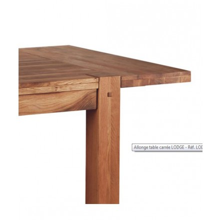 """Allonge pour table carré""""Lodge"""""""
