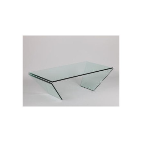 "Table en verre moderne ""Cléo"""