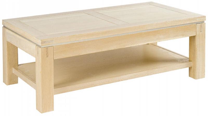 table basse chene blanchi lovely table basse avec photo. Black Bedroom Furniture Sets. Home Design Ideas