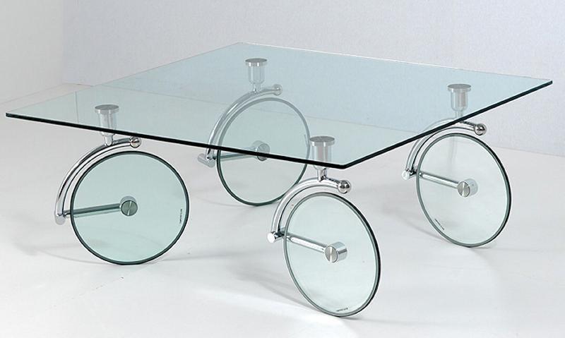 table verre marque italienne. Black Bedroom Furniture Sets. Home Design Ideas