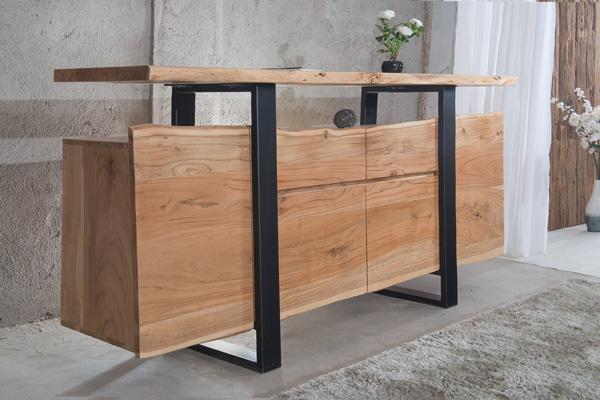 Buffet de qualité en bois massif